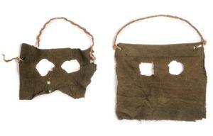 Maski braci Stratton, w których dokonali morderstwa