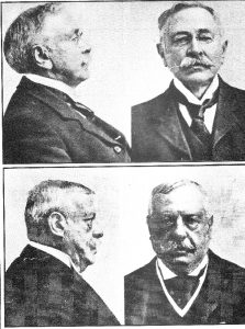 Adolf Beck (u góry) i John Smith (na dole)